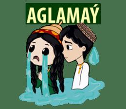 Leyli and Mejnun love story sticker #14805837