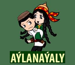 Leyli and Mejnun love story sticker #14805838