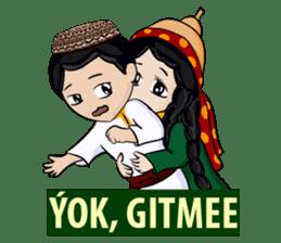 Leyli and Mejnun love story sticker #14805840