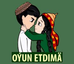 Leyli and Mejnun love story sticker #14805841
