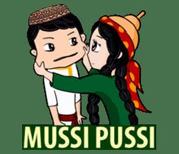 Leyli and Mejnun love story sticker #14805843