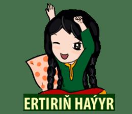 Leyli and Mejnun love story sticker #14805844