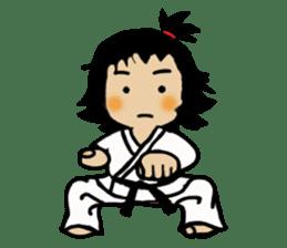 osu karate kids sticker #14808830