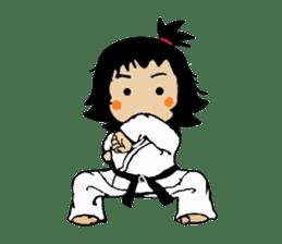 osu karate kids sticker #14808832