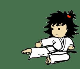 osu karate kids sticker #14808833