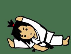 osu karate kids sticker #14808834