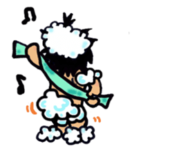 osu karate kids sticker #14808836
