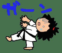 osu karate kids sticker #14808839