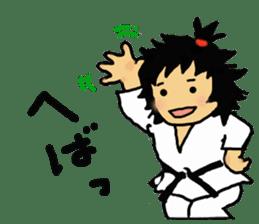 osu karate kids sticker #14808842