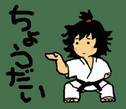 osu karate kids sticker #14808844