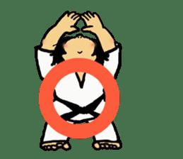 osu karate kids sticker #14808845