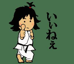 osu karate kids sticker #14808850