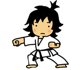 osu karate kids sticker #14808853