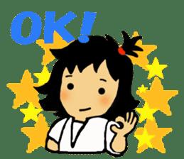osu karate kids sticker #14808855