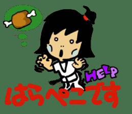 osu karate kids sticker #14808859