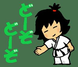 osu karate kids sticker #14808866