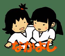 osu karate kids sticker #14808868