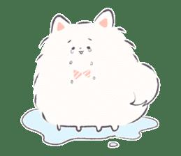 popome with friends(english) sticker #14825083