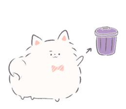 popome with friends(english) sticker #14825090