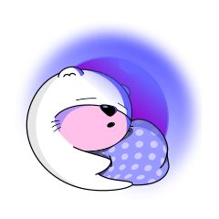 Babies otter with pillows
