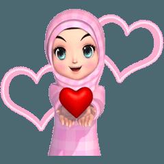 Amarena Muslim hijab girl-Eng