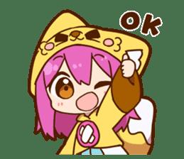 YUZUHA chan BOTAN kun Sticker sticker #14845090