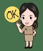 funny teacher (animation) sticker #14858047