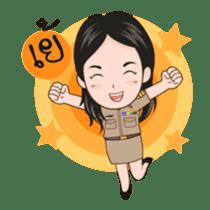 funny teacher (animation) sticker #14858054