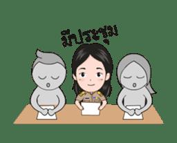 funny teacher (animation) sticker #14858056