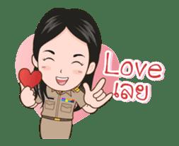 funny teacher (animation) sticker #14858057