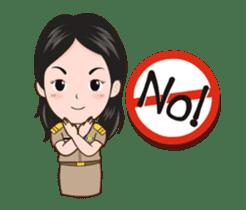 funny teacher (animation) sticker #14858064