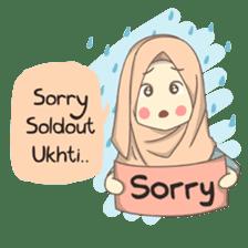 Azmeela Hijab : Happy Shopping sticker #14858774