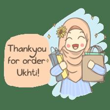 Azmeela Hijab : Happy Shopping sticker #14858775