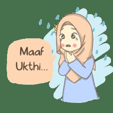 Azmeela Hijab : Happy Shopping sticker #14858776