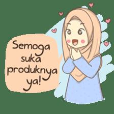 Azmeela Hijab : Happy Shopping sticker #14858777