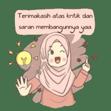 Azmeela Hijab : Happy Shopping sticker #14858778