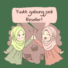Azmeela Hijab : Happy Shopping sticker #14858779