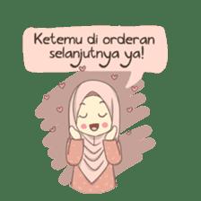 Azmeela Hijab : Happy Shopping sticker #14858780