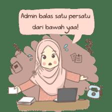 Azmeela Hijab : Happy Shopping sticker #14858781