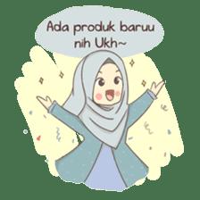 Azmeela Hijab : Happy Shopping sticker #14858782