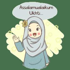 Azmeela Hijab : Happy Shopping sticker #14858784