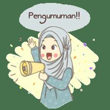 Azmeela Hijab : Happy Shopping sticker #14858785