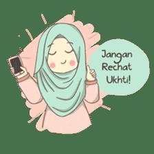 Azmeela Hijab : Happy Shopping sticker #14858786