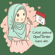 Azmeela Hijab : Happy Shopping sticker #14858789