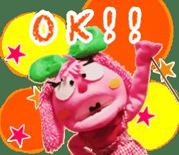 Puppet of Catherine sticker #14868694