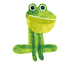 6-9 / Little Prince Frog-Finn sticker #14870263