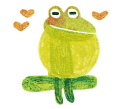 6-9 / Little Prince Frog-Finn sticker #14870265