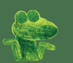 6-9 / Little Prince Frog-Finn sticker #14870270