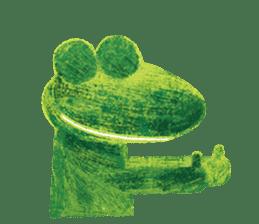 6-9 / Little Prince Frog-Finn sticker #14870273