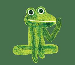 6-9 / Little Prince Frog-Finn sticker #14870274